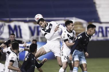 Vélez 0-0 Racing.<div>Fuente: Liga AFA.</div>