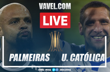 Gol e melhores momentos Palmeiras x Universidad Católica pela Libertadores 2021 (1-0)