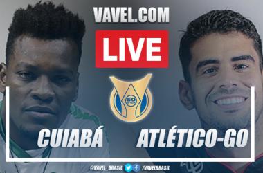 Gols e melhores momentos Cuiabá x Atlético-GO pelo Brasileirão 2021 (2-1)
