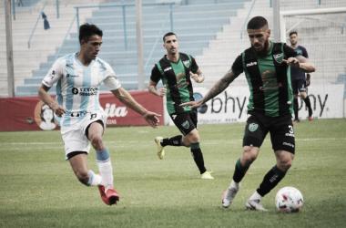 Atlético Rafaela 0-2 San Martín (SJ).<div>Fuente: CA San Martín SJ.</div>