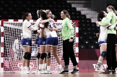 Gols e melhores momentos para Comitê Olímpico Russo 25x30 França no Handebol Feminino nas Olimpíadas de Tóquio