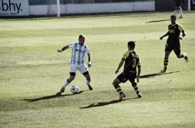 Atlético Rafaela 0-1 Santamarina.<div>Fuente: Prensa Atlético.</div>