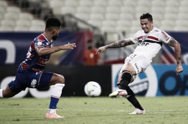 Gols e melhores momento para São Paulo 2x2 Fortaleza pela Copa do Brasil
