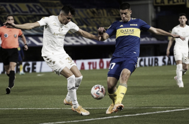 Racing 0-0 Boca Juniors.<div>Fuente: web.</div>
