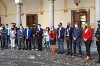 Acto de recepción en el Ayuntamiento de Granada/ Foto: MJR