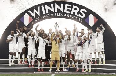 Francia vuelve al tercer lugar del ranking FIFA tras la UEFA Nations League 2021 | Fotografía: UEFA
