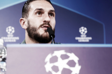 Koke en rueda de prensa /Twitter Oficial Atlético de Madrid