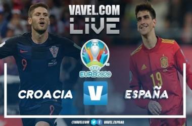 Resumen España 5-3 Croacia en la Eurocopa 2020