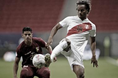 Venezuela 0-1 Perú: la blanquirroja segunda del grupo B