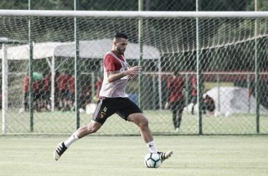 Em bom momento, Ronaldo Alves vê com bons olhos a volta para a Ilha do Retiro(Foto: Williams Aguiar / Sport Club do Recife)