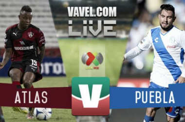 Resultado Atlas - Puebla en Liga MX (2-1)