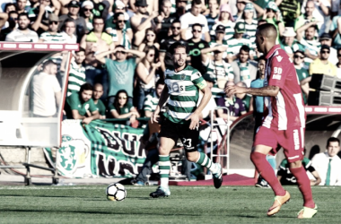 Adrien poderá ficar sem jogar até Janeiro // Foto: Facebook Sporting CP