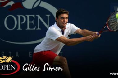 US OPEN 2015: Gilles Simon,