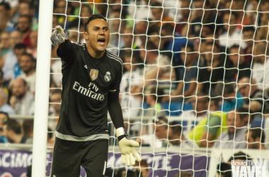 """Keylor: """"Somos del Real Madrid y no nos podemos rendir"""""""