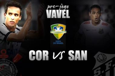 Pré-jogo: Sem Jadson, Corinthians recebe Santos em busca de virada heroica