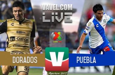 Resultado Dorados - Puebla en Liga MX 2015 (1-0)