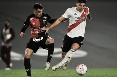 DESCANSARÍA. Álvarez(derecha) en principio sería reservado para el duelo clave del miércoles por Libertadores en La Paternal. Foto: Web