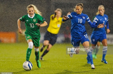 Emmi Alanen and Finland are fighting two battles; to ensure second place in their own group but also to get one of the 6 spots that secures direct qualification