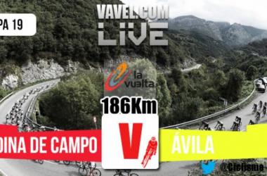 Resultado de la etapa 19 de la Vuelta a España 2015: Medina del Campo - Ávila