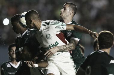 Foto da última partida entre ambos, em 2015 (Foto: Divulgação/SE Palmeiras)