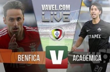 Resultado Benfica x Académica na Liga NOS 2015 (3-0)