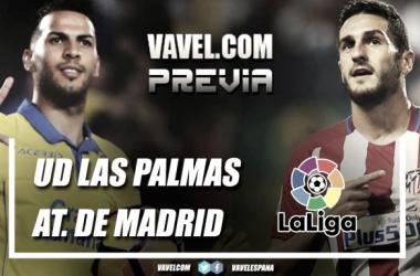 Previa UD Las Palmas - Atlético de Madrid: la victoria como objetivo