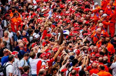 "F1, Ferrari - Raikkonen punta Monza: ""Vogliamo vincere, ad ogni costo"" - Ferrari/Twitter"