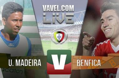 Resultado União Madeira x Benfica jogo adiado, Liga NOS (0-0)