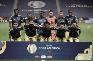 Puntuaciones de Colombia en la obtención del tercer puesto en la Copa América 2021