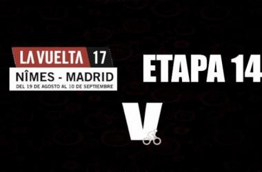 Vuelta a España: en la etapa 14 Majka celebró, Chaves se descolgó y Froome resistió