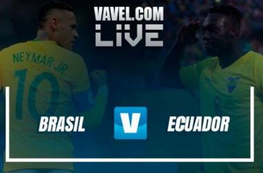 Brasileños y ecuatorianos se enfrentan con el mismo objetivo: ser parte de la fiesta mundial que se llevará en Rusia el próximo año. Fotomontaje: VAVEL