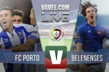 Resultado Porto x Belenenses na Liga NOS (4-0)