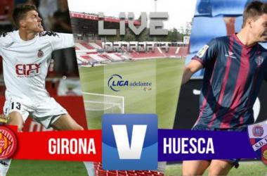 Resultado Girona - Huesca en Liga Adelante 2015 (0-0)