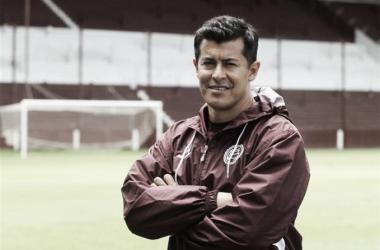 Jorge Almirón llegó al club en 2016   Foto: La Nacion