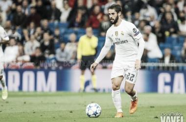 Isco entrenó con el Real Madrid. Imagen: Vavel
