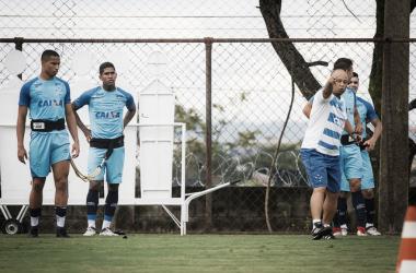 Raniel marcou gols importantes nos últimos jogos, mas tem a sombra de Fred recuperado de lesão (Foto: Vinnicius Silva/Cruzeiro E.C.