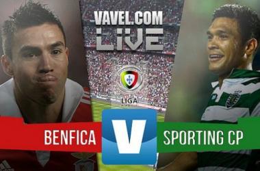 Resultado Benfica x Sporting na Liga NOS 2015 (0-3)