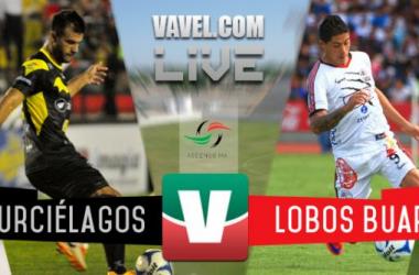 Murciélagos vs Lobos BUAP en vivo y en directo online en Ascenso MX 2015