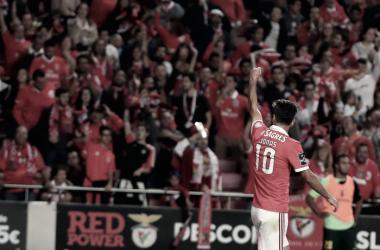 Benfica vs Paços de Ferreira: desta vez a águia matou mesmo // Foto: Facebook do SL Benfica