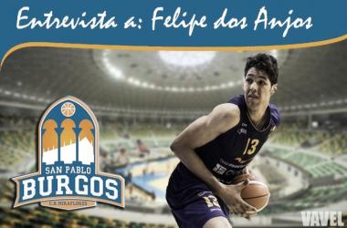 """Entrevista. Felipe Dos Anjos: """"Burgos es un equipo nuevo, por lo que me va a ayudar a crecer"""""""