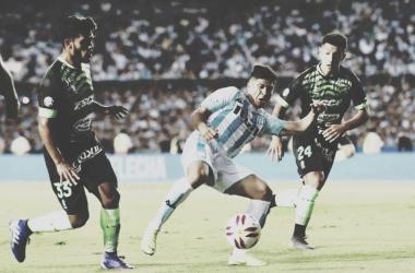 Último partido entre Racing y Defensa (Foto: Olé).