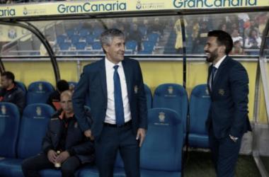 """Quique Setién: """"El Betis se queja del arbitraje con razón"""""""