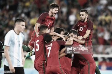 Portugal estreia-se a vencer nos Jogos Olímpicos.