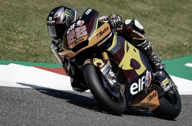 Sam Lowes durante los entrenamientos en Mugello / Fuente: motogp.com