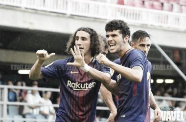 Tercera victoria consecutiva del FC Barcelona B | FOTO: Noelia Déniz