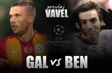 Galatasaray - Benfica: a por el tres de tres