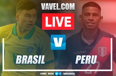 Gol e melhores momentos de Brasil x Peru pelo Torneio Pré-Olímpico Sub-23 (1-0)
