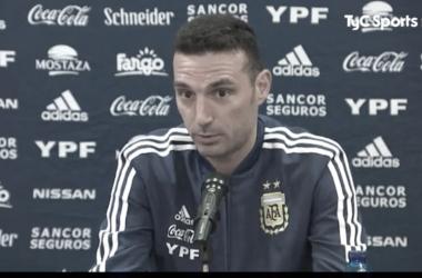 """Scaloni confirmó el equipo con una sorpresa: """"Nicolás González puede hacer una linda aparición"""""""