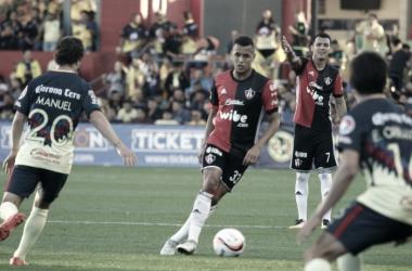 Ravel Morrison anotó su primer gol con los Rojinegros | Foto: Atlas FC