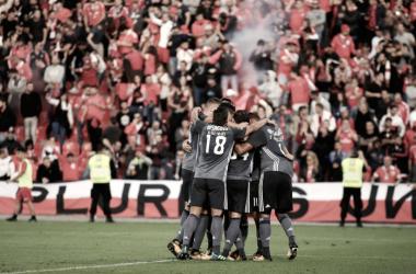 Águia de Vitória voa mais alto // Foto: Facebook do SL Benfica